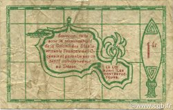 1 Franc OCÉANIE  1943 P.11c TB