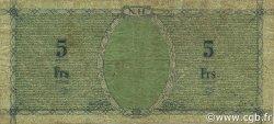 5 Francs NOUVELLES HÉBRIDES  1943 P.01 pr.TTB