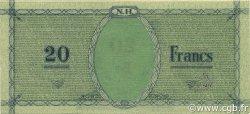 20 Francs NOUVELLES HÉBRIDES  1943 P.02 SPL