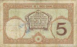 5 Francs NOUVELLES HÉBRIDES  1941 P.04b TB+