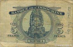 5 Francs NOUVELLES HÉBRIDES  1945 P.05 TB+