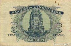 5 Francs NOUVELLES HÉBRIDES  1945 P.05 TTB