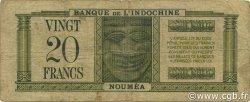 20 Francs NOUVELLES HÉBRIDES  1945 P.07 TB