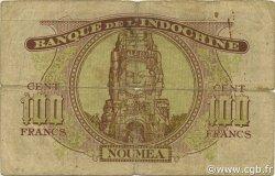 100 Francs NOUVELLES HÉBRIDES  1943 P.11 B+