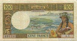 100 Francs NOUVELLES HÉBRIDES  1965 P.16 TTB