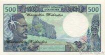 500 Francs NOUVELLES HÉBRIDES  1979 P.19b NEUF