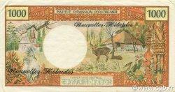 1000 Francs NOUVELLES HÉBRIDES  1975 P.20b SUP