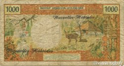1000 Francs NOUVELLES HÉBRIDES  1975 P.20b B+