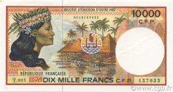 10000 Francs POLYNÉSIE, TERRITOIRES D