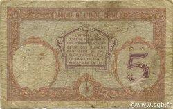 5 Francs TAHITI  1936 P.11c AB
