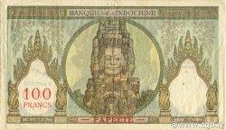 100 Francs TAHITI  1961 P.14d TTB+
