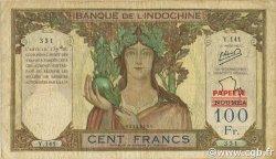 100 Francs TAHITI  1963 P.16A F