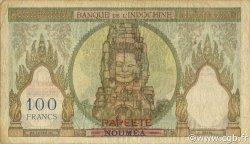 100 Francs TAHITI  1963 P.16A TB
