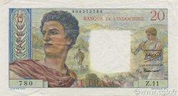 20 Francs TAHITI  1951 P.21a SUP