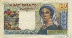 20 Francs TAHITI  1963 P.21c TTB+