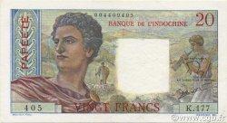 20 Francs TAHITI  1963 P.21c SPL