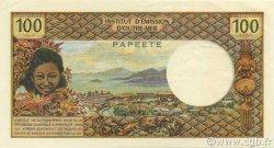 100 Francs TAHITI  1969 P.23 pr.SPL