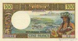 100 Francs TAHITI  1973 P.24b NEUF