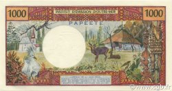 1000 Francs TAHITI  1971 P.27a NEUF