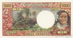 1000 Francs TAHITI  1977 P.27b pr.NEUF