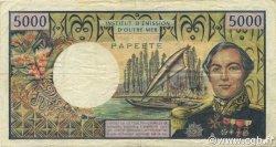 5000 Francs TAHITI  1971 P.28a TTB
