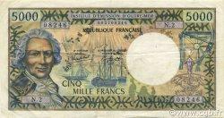 5000 Francs TAHITI  1982 P.28c TTB+