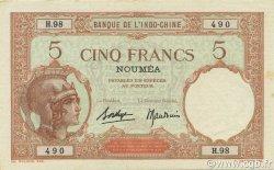 5 Francs NOUVELLE CALÉDONIE  1936 P.36b pr.NEUF