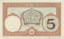 5 Francs NOUVELLE CALÉDONIE  1936 P.36b SPL