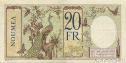 20 Francs NOUVELLE CALÉDONIE  1936 P.37b SUP
