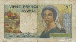 20 Francs NOUVELLE CALÉDONIE  1951 P.50a pr.TTB