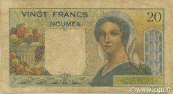 20 Francs NOUVELLE CALÉDONIE  1954 P.50b B