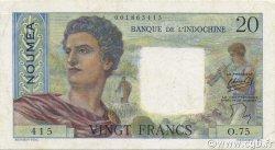 20 Francs NOUVELLE CALÉDONIE  1954 P.50b SUP