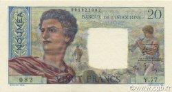 20 Francs NOUVELLE CALÉDONIE  1954 P.50b NEUF