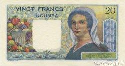20 Francs NOUVELLE CALÉDONIE  1954 P.50b
