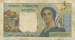 20 Francs NOUVELLE CALÉDONIE  1963 P.50c B