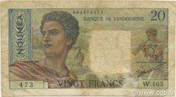 20 Francs NOUVELLE CALÉDONIE  1963 P.50c TB