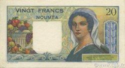 20 Francs NOUVELLE CALÉDONIE  1963 P.50c SUP+