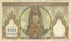 100 Francs NOUVELLE CALÉDONIE  1957 P.42d TB+