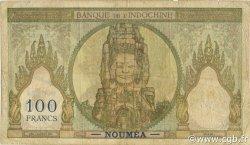 100 Francs NOUVELLE CALÉDONIE  1963 P.42e TB