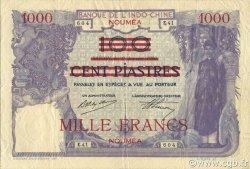 1000 Francs NOUVELLE CALÉDONIE  1939 P.40 TTB