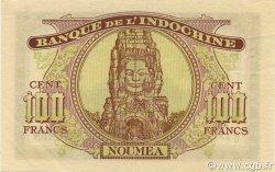 100 Francs NOUVELLE CALÉDONIE  1942 P.44 SUP à SPL