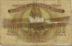 100 Francs NOUVELLE CALÉDONIE  1944 P.46b AB