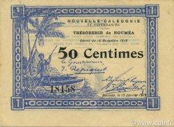 50 Centimes NOUVELLE CALÉDONIE  1919 P.30 SUP