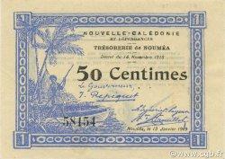50 Centimes NOUVELLE CALÉDONIE  1919 P.33a pr.NEUF