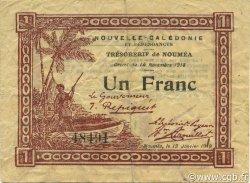 1 Franc NOUVELLE CALÉDONIE  1919 P.34a pr.TTB