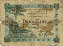 2 Francs NOUVELLE CALÉDONIE  1919 P.35a B