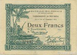 2 Francs NOUVELLE CALÉDONIE  1919 P.35a TTB