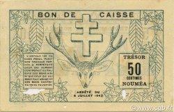 50 Centimes NOUVELLE CALÉDONIE  1942 P.51 TTB
