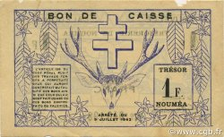 1 Franc NOUVELLE CALÉDONIE  1942 P.52 TTB+