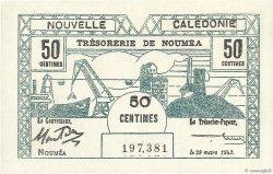 50 Centimes NOUVELLE CALÉDONIE  1943 P.54 NEUF